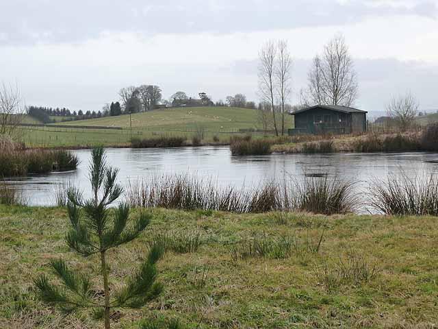 Fishing pond at Dykenook