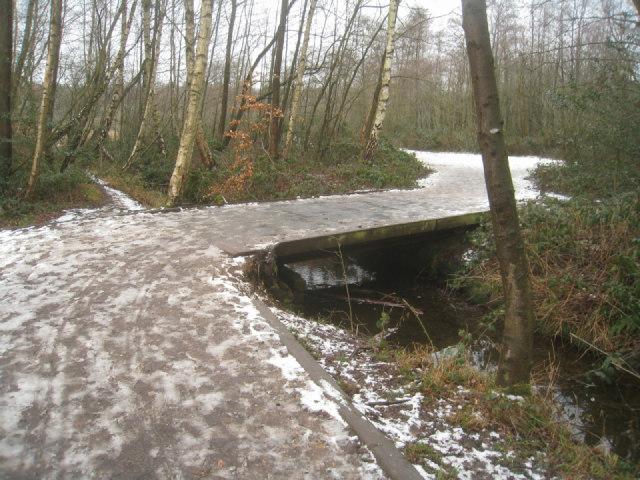 Crossing Gelvert Stream