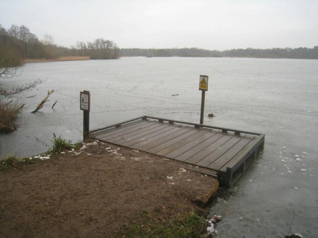 Fishing area - Fleet Pond