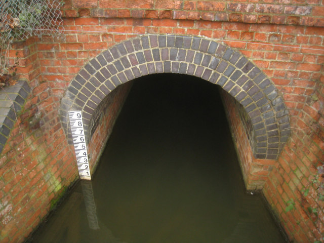 Low level in Fleet Pond