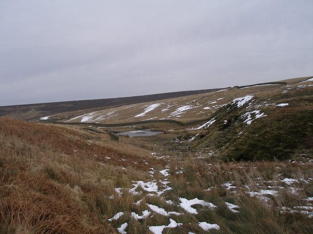 South west corner of Upper Windleden Reservoir