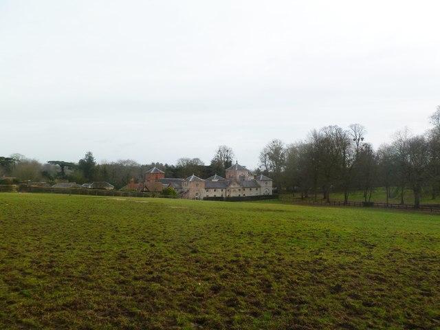 Moor Crichel, estate buildings