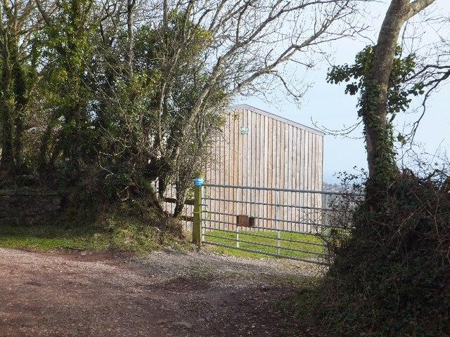 Barn or shed beside Shepherds Lane