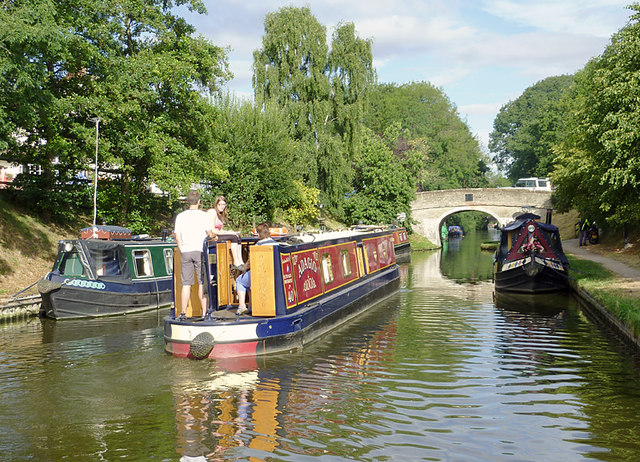 Shropshire Union Canal at Wheaton Aston, Staffordshire
