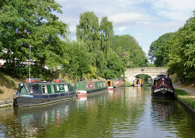 Shropshire Union Canal at Wheaton Aston, Staffordshire