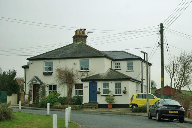 Cottages on the corner