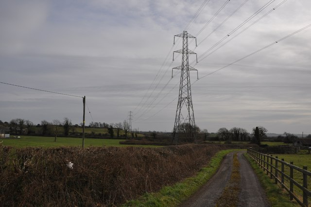 South Gloucestershire : Track & Pylons