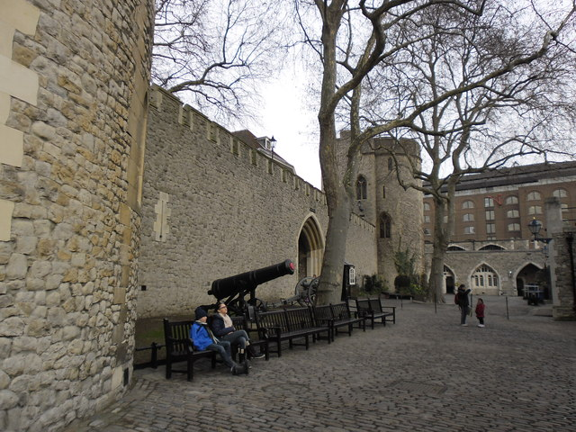 Seats inside The Tower of London