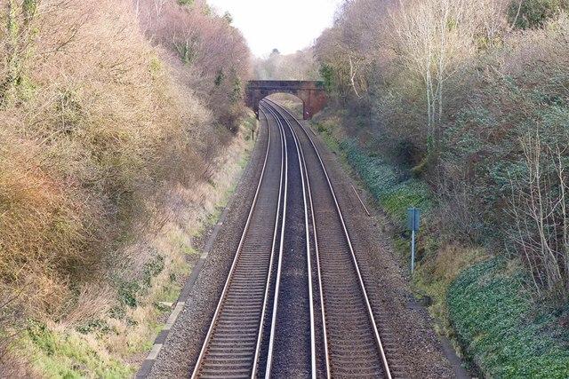 Railway Tracks at Ashley