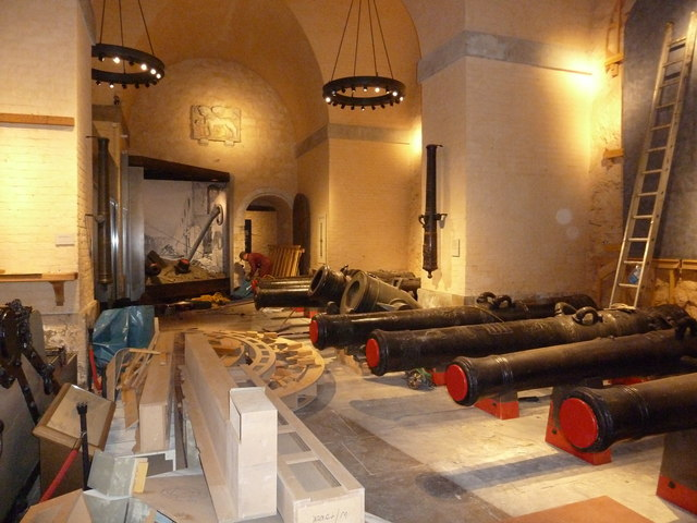 Workshop area beneath The White Tower
