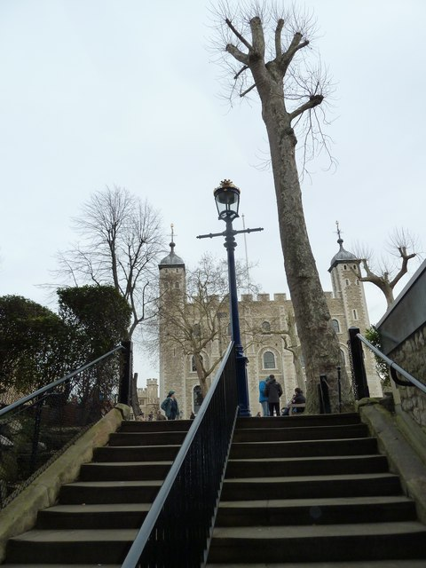The White Tower as seen from The Beauchamp Tower