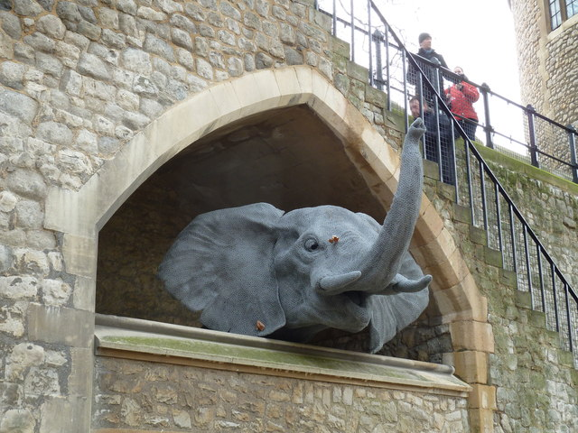 Animal sculptures within The Tower of London (iii)