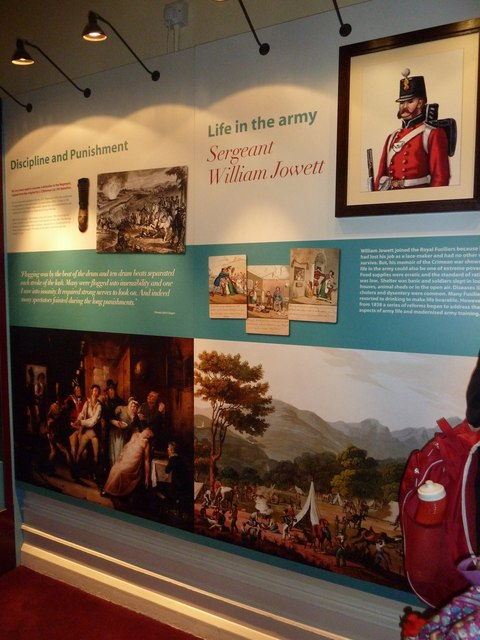 Inside The Royal Regiment of Fusiliers Museum (V)
