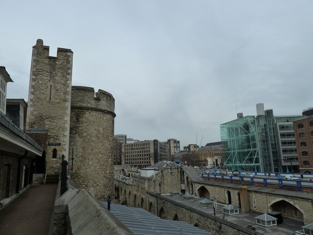 Outer walls of The Tower of London