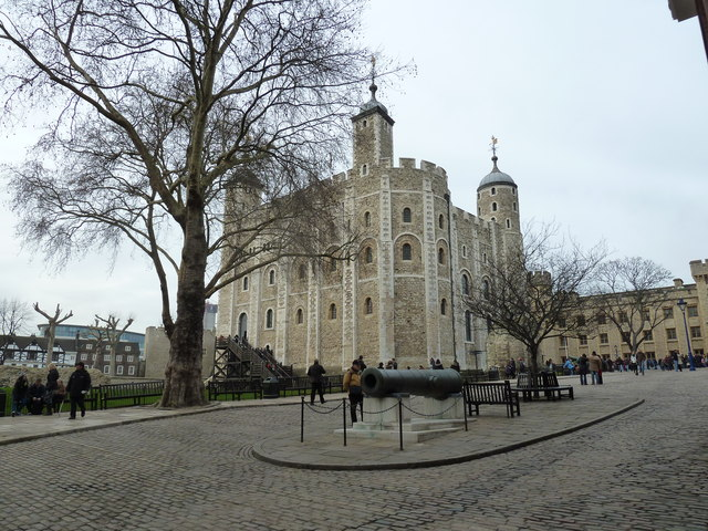 The White Tower in winter