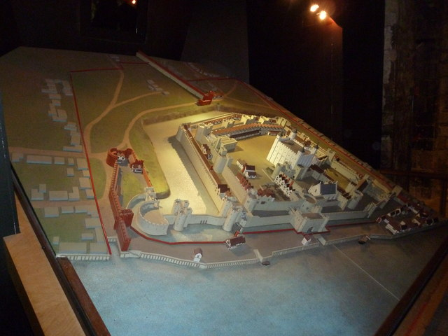 Model  of The Tower of London within The White Tower