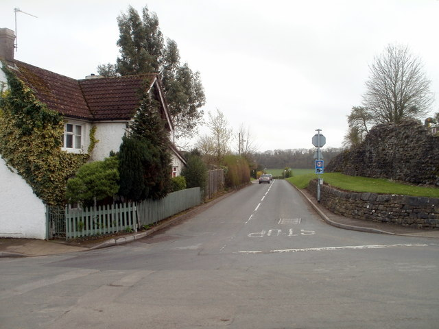 Road from Caerwent to Caldicot