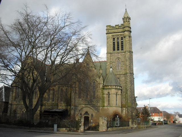 The former Trinity North Church in Kelso