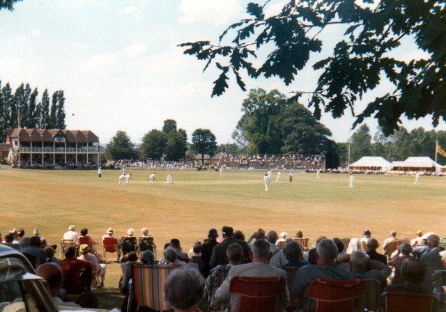 Kent v Surrey - Mote Park Maidstone    1973
