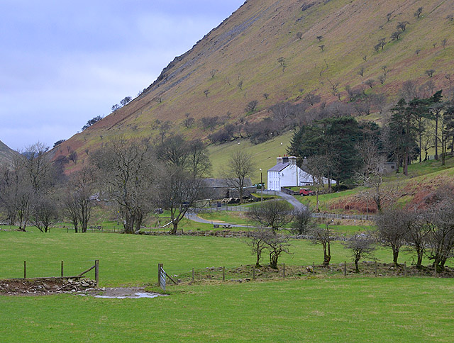 Fields below Tyllwyd