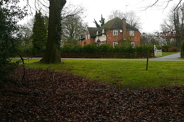 Houses off Lane End Road