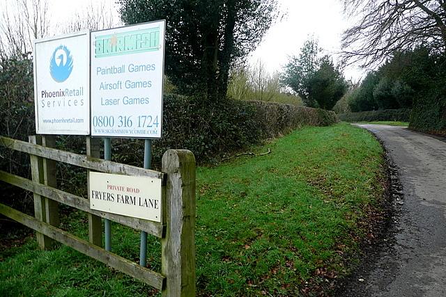 Fryers Farm Lane