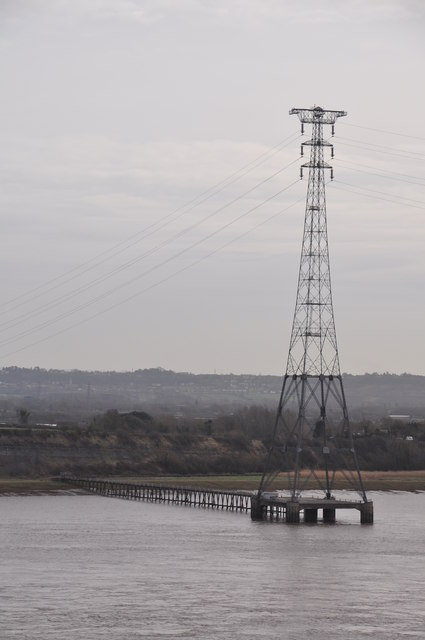 Severn Bridge : River Severn & Pylon