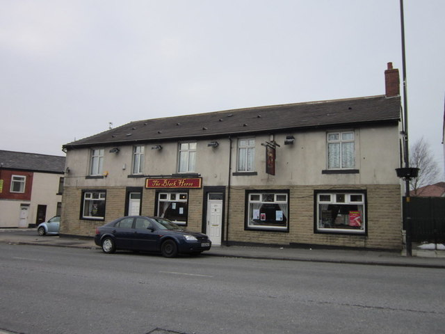 The Black Horse public house, Watersheddings