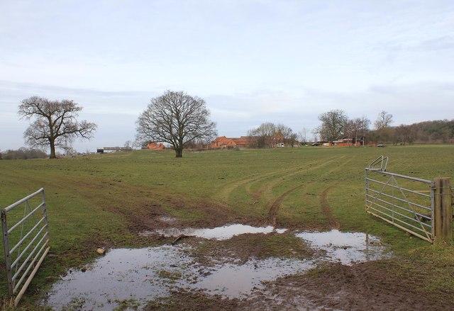 View towards Hill Farm