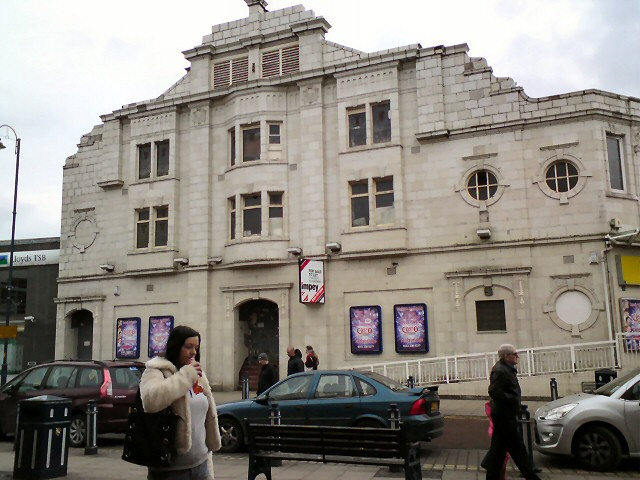 The once Majestic Picture House