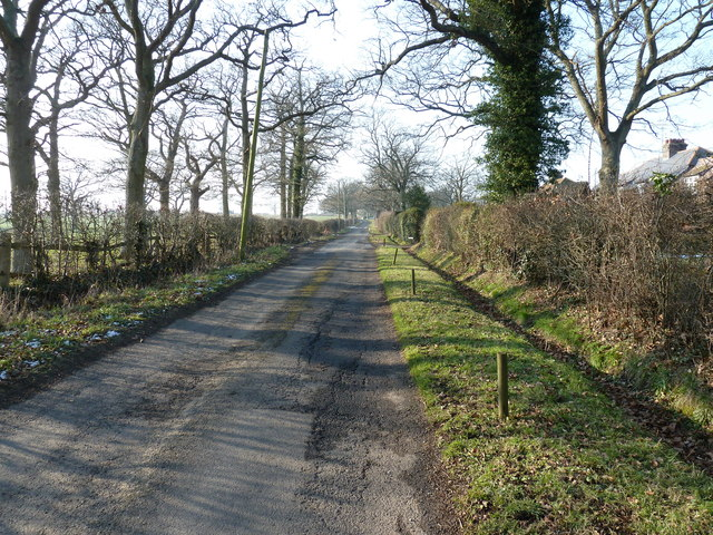 Sproutes Lane off the B2139
