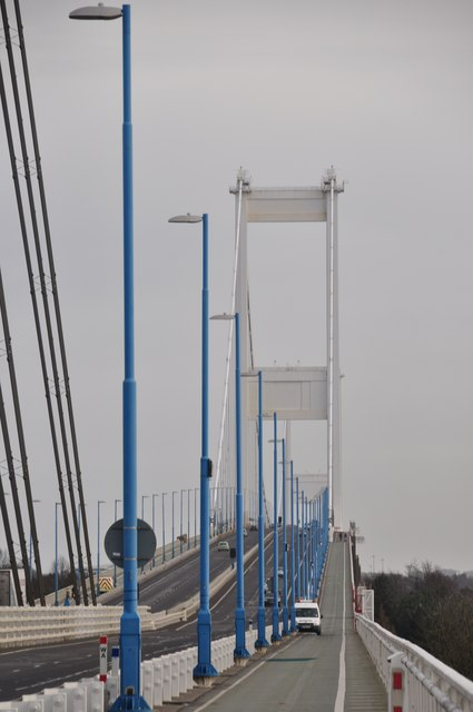 Chepstow : The Severn Bridge