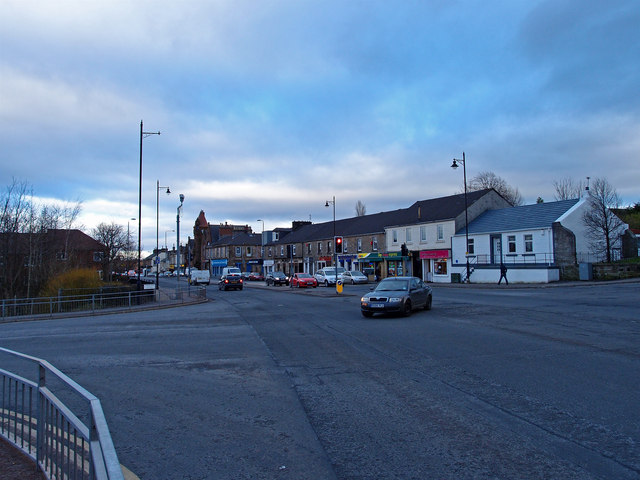 Junction, Main Street, Barrhead
