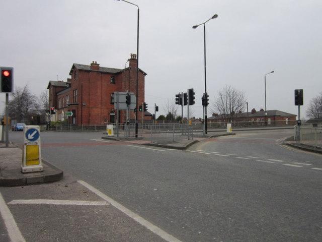 Barrington Road at Woodlands Road