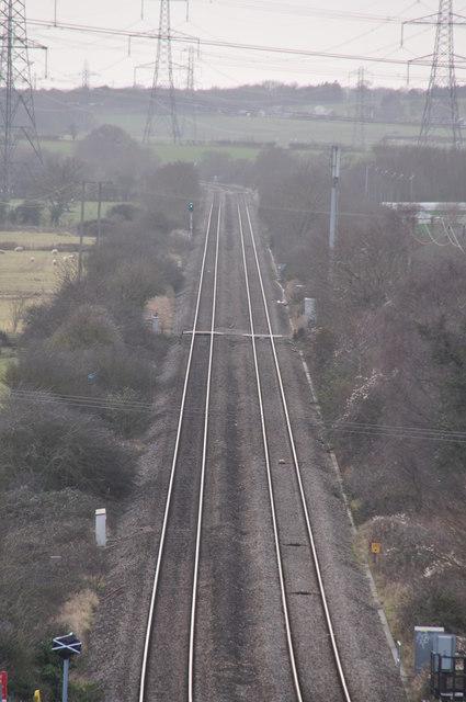 Chepstow : Railway Track