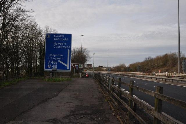Chepstow : The M48 Motorway