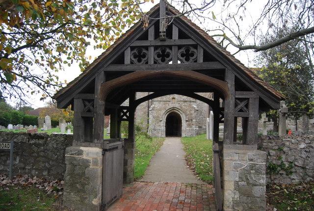 Lych gate, Church of St Margaret