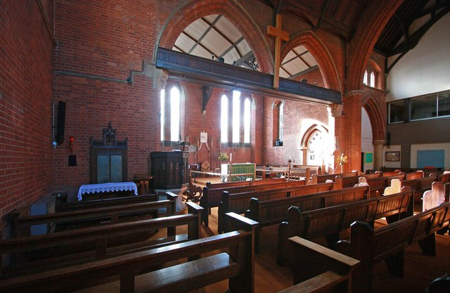 St Mark, St Mark's Road, Mitcham - Interior