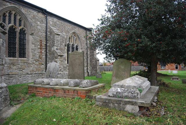 Graves, Churchyard, Church of St Margaret