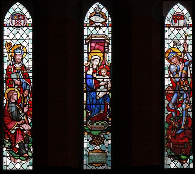 St Mark, St Mark's Road, Mitcham - Stained glass window