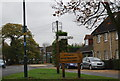 TQ7775 : Village signs by N Chadwick