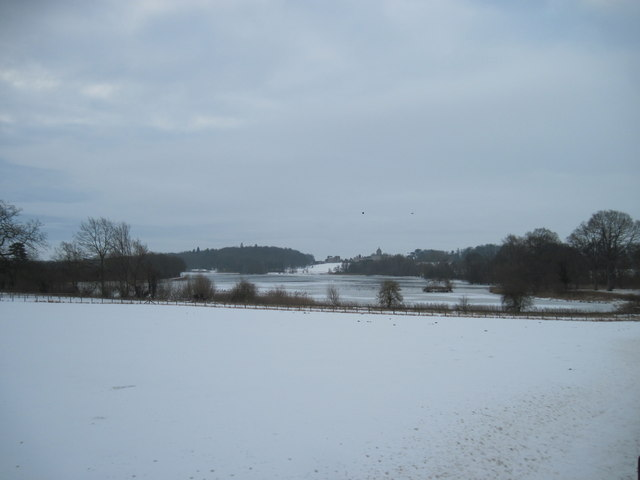 A  Winter  View  to  Castle  Howard