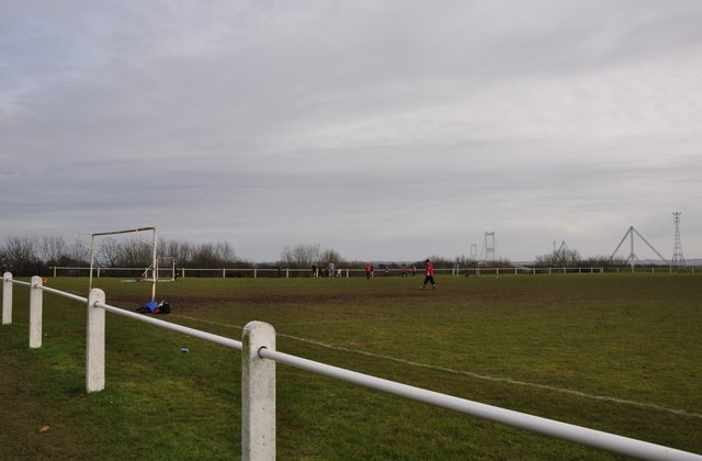 Chepstow : Football Pitch