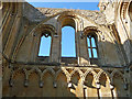 ST4938 : Glastonbury - Glastonbury Abbey Lady Chapel by Chris Talbot