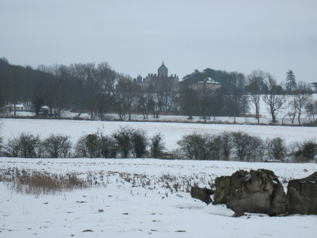 Castle  Howard  in  Winter