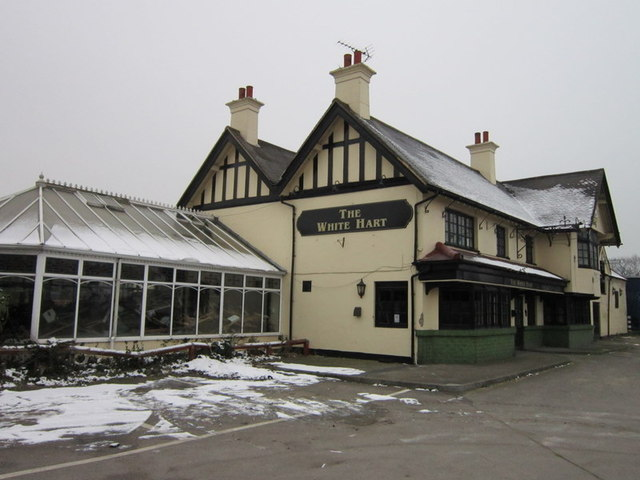 The White Hart on the A4
