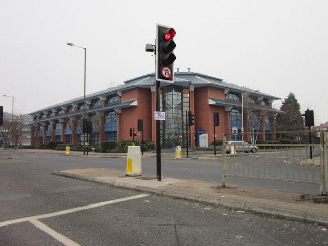 Axis House on Bath Road