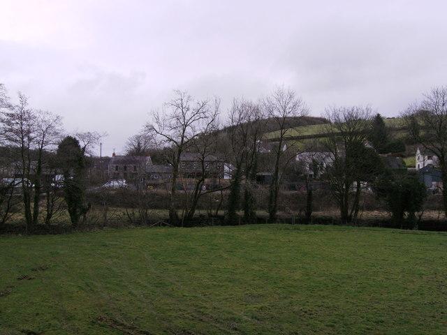 Llanglydwen village