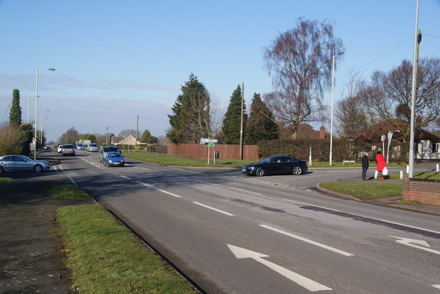 Crossroads on the A34