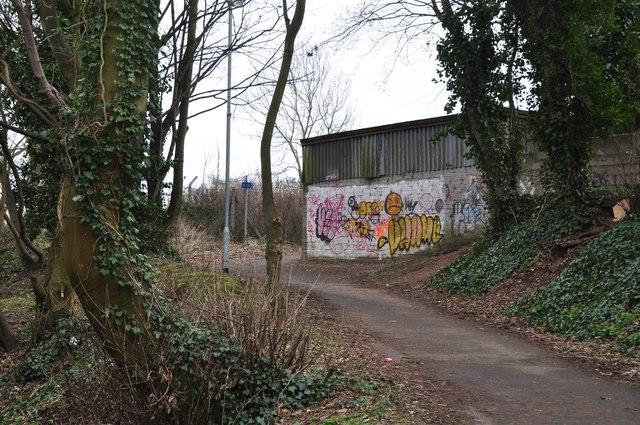 Chepstow : Footpath